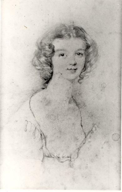 Ellen Nussey, by Charlotte Bronte
