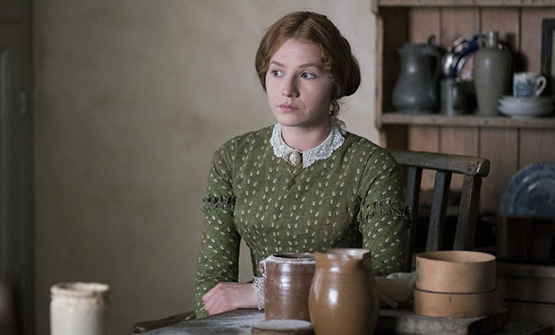 Charlie Murphy as Anne Bronte in To Walk Invisible