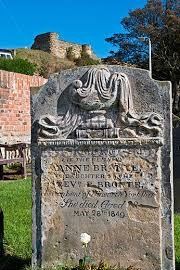 Anne Brontë's final resting place at Scarborough