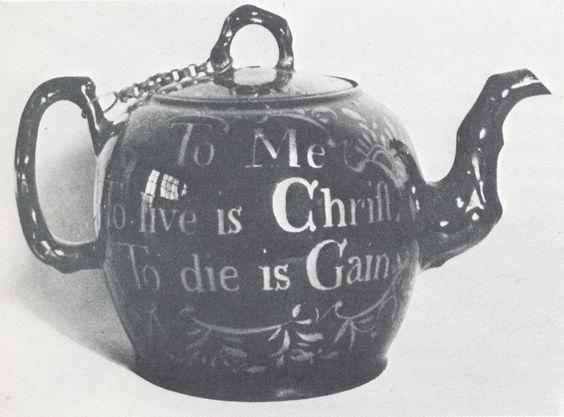 Aunt Branwell's teapot