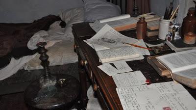 Branwell's studio, Bronte Parsonage Museum