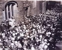 Bronte Parsonage Museum opening, 1928