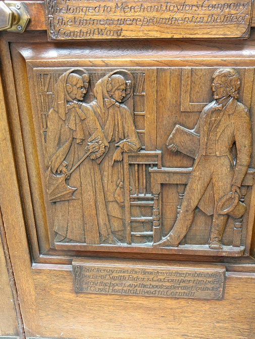 Bronte door panel