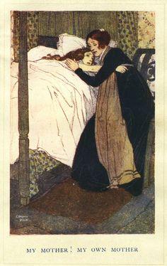 Caroline Helstone by Edmund Dulac