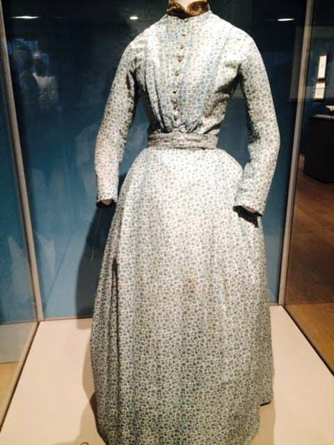 Charlotte Bronte dress, New York