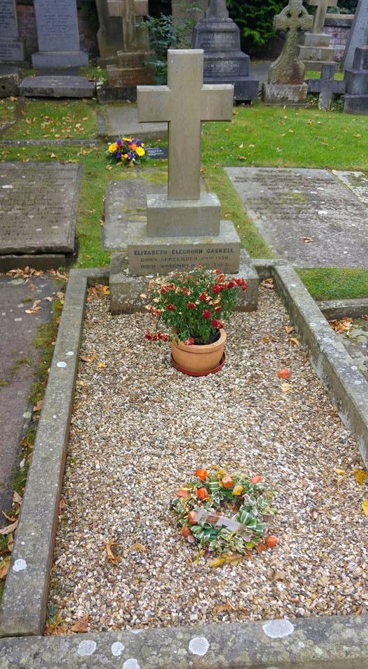 Elizabeth Gaskell's grave