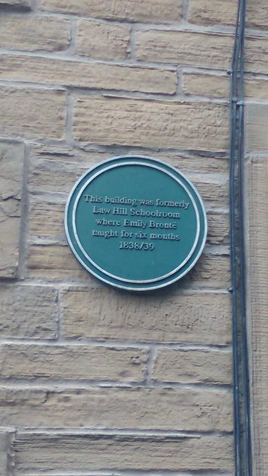Emily Bronte plaque