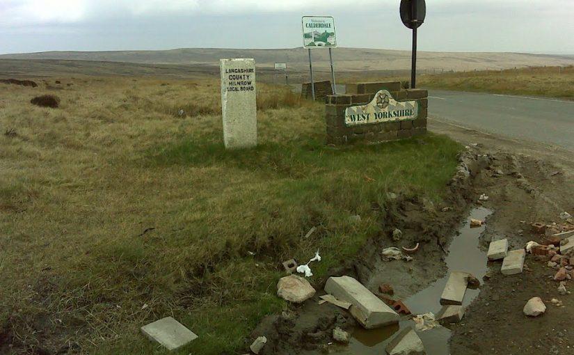 Yorkshire Lancashire border