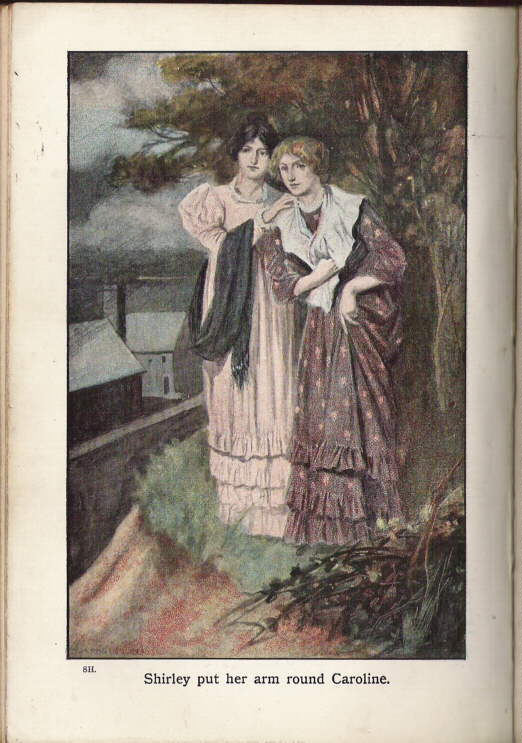 Shirley and Caroline, by Edmund Dulac