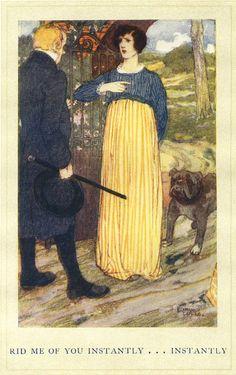 Shirley Keeldar by Edmund Dulac