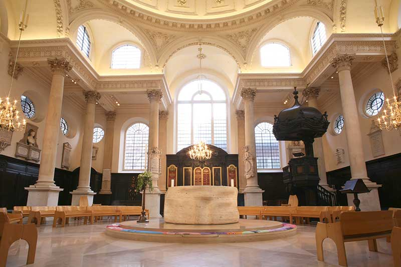 St Stephens Church Walbrook