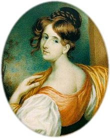 The young Elizabeth Gaskell