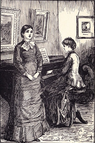 Anne Bronte singing
