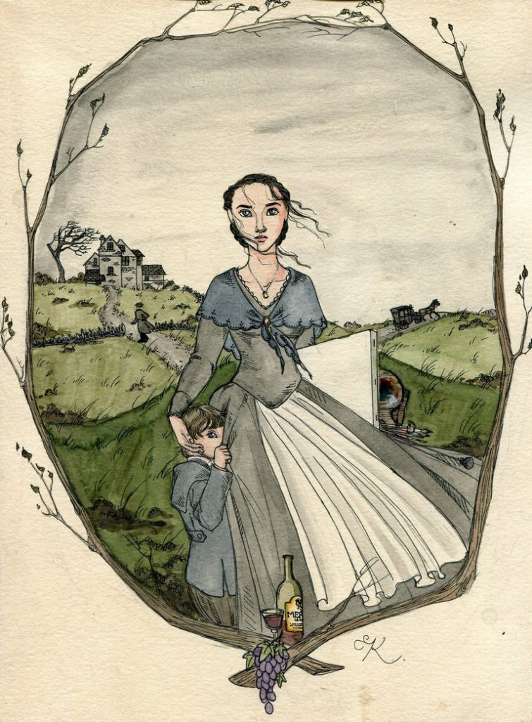 The Tenant Of Wildfell Hall by Kitty Grimm