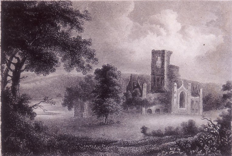 Kirkstall Abbey by Charlotte Bronte