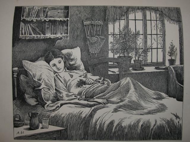 Sick Victorian child