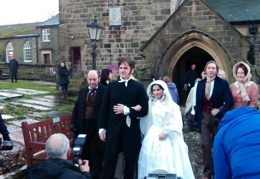 Charlotte Bronte's wedding to Arthur Be