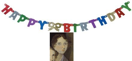 Happy 199th Birthday, Emily Brontë