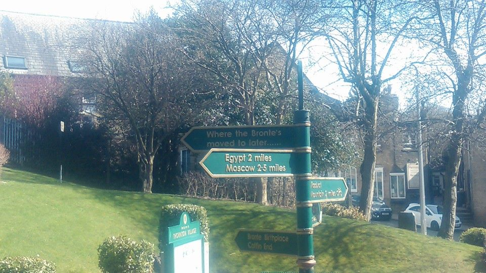 Thornton signpost