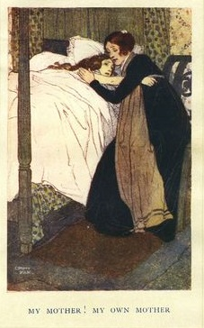 Caroline and Mrs Pryor by Edmund Dulac