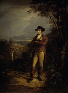 Robert Burns by Alexander Nasmyth