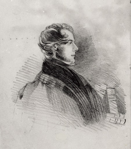 William Weightman by Charlotte Bronte
