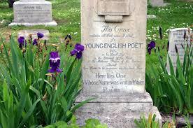 Keats' grave, Rome