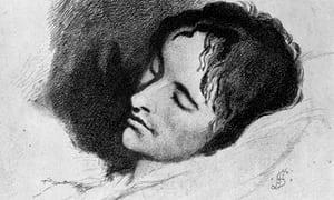 Keats head