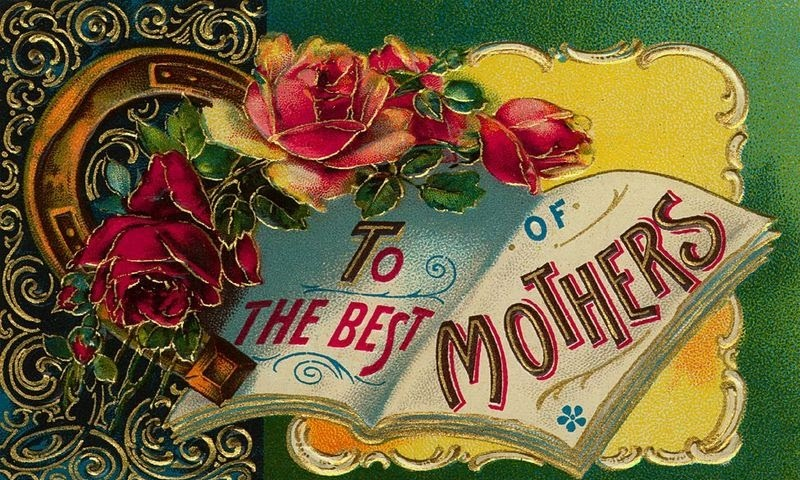 A Victorian 'Mother's Day' card