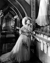 Joan Fontaine as the second Mrs de Winter