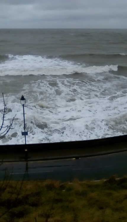 Scarborough's roaring waves