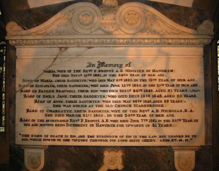 Bronte memorial