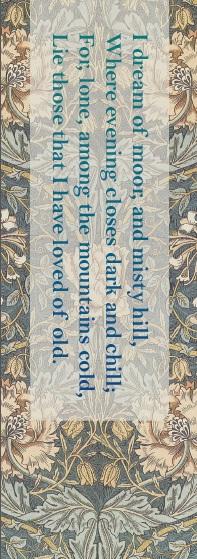 Emily Bronte bookmark