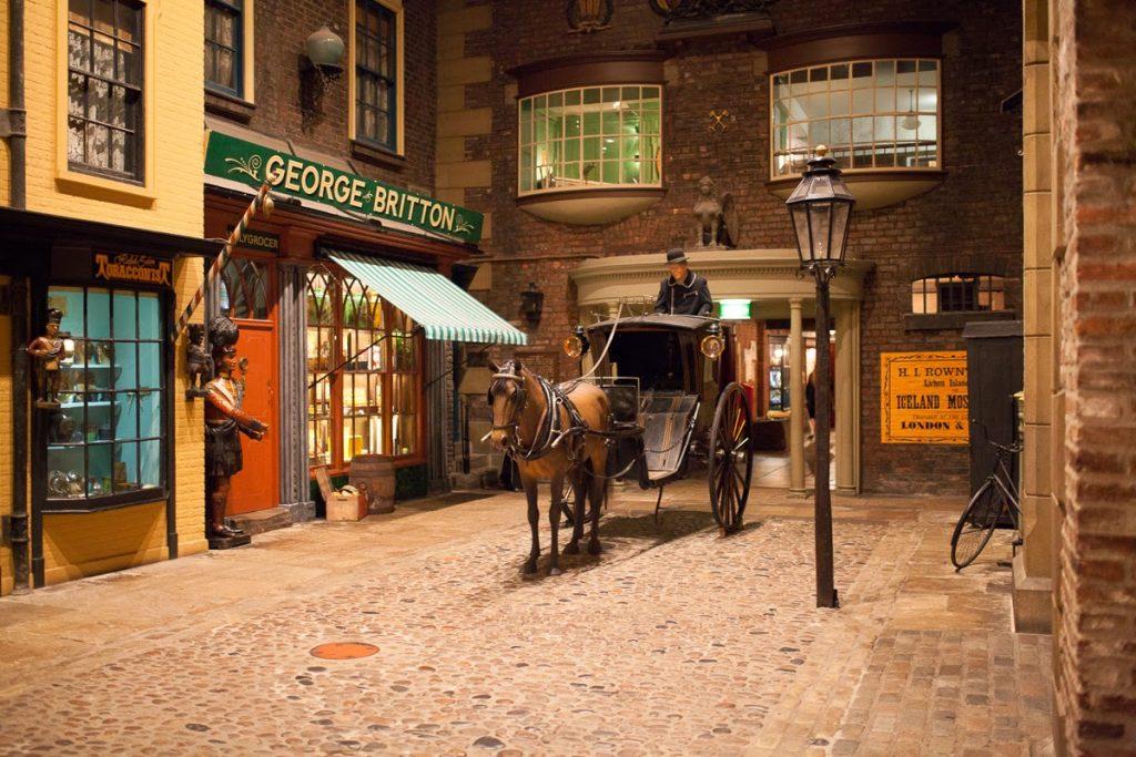 York Castle Museum Victorian Street