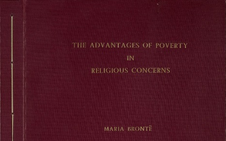 Maria Brontë and the Advantages of Poverty