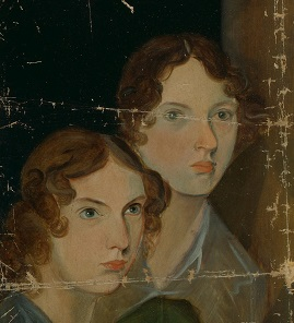 Anne and Emily Bronte in 1834