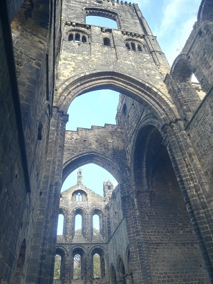 Kirkstall Abbey arches
