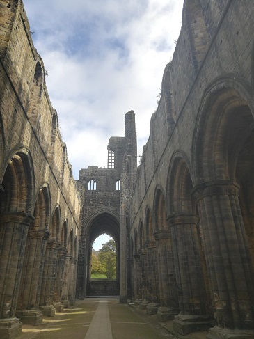 Kirkstall Abbey chapel