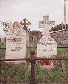 Arthur Bell Nicholls' gravestone