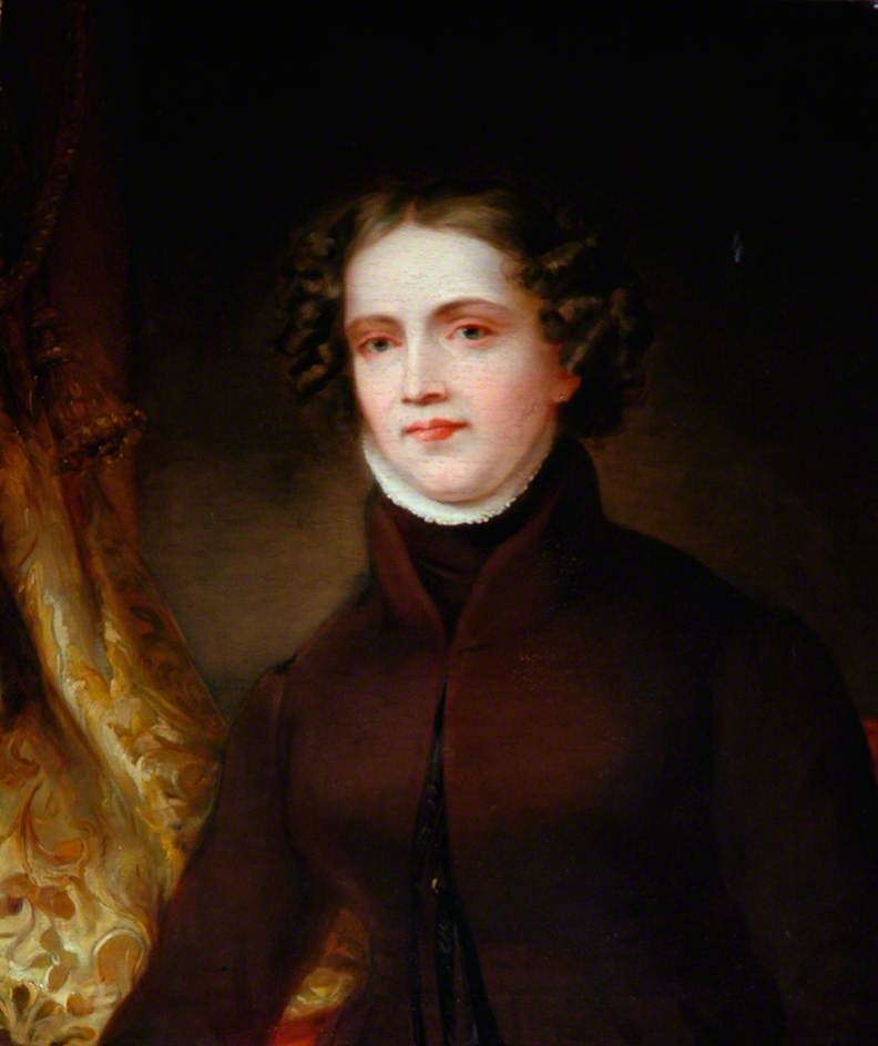Anne Lister, painted in 1830