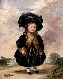 Princess Victoria, aged 4
