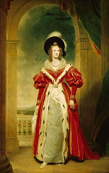 Queen Adelaide 1836