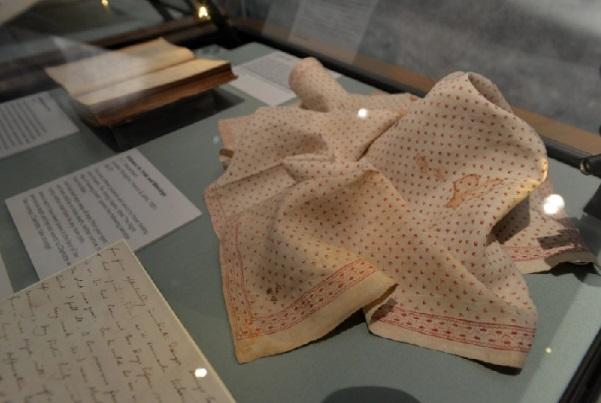 Anne Bronte handkerchief
