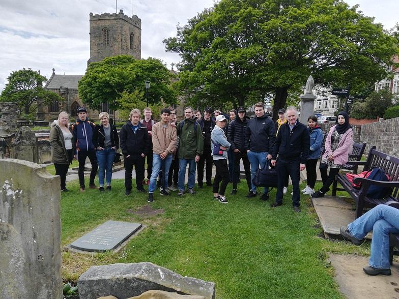 Anne Bronte grave visitors