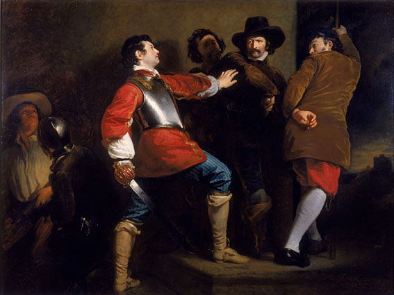 The capture of Guy Fawkes