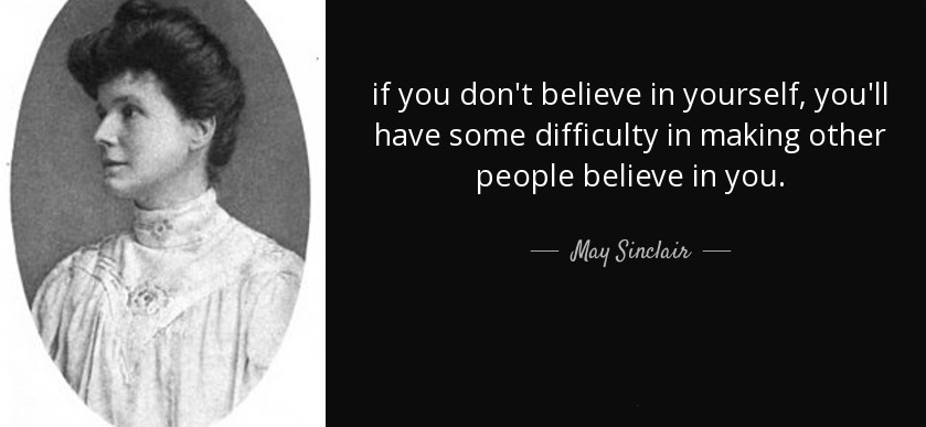 May Sinclair quote