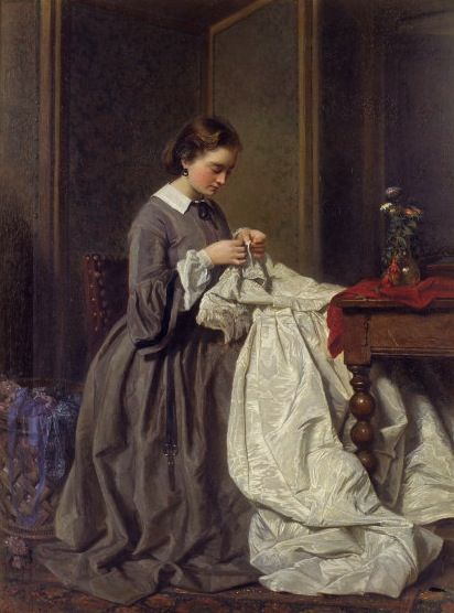 Victorian needlework
