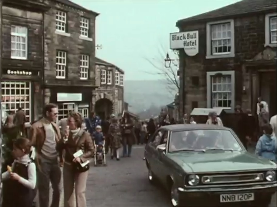 Haworth's Main Street in The Bronte Business