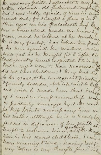 Elizabeth Gaskell's letter to John Forster