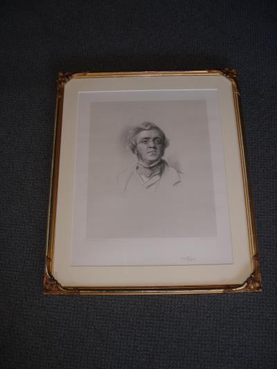 Thackeray portrait Charlotte Bronte